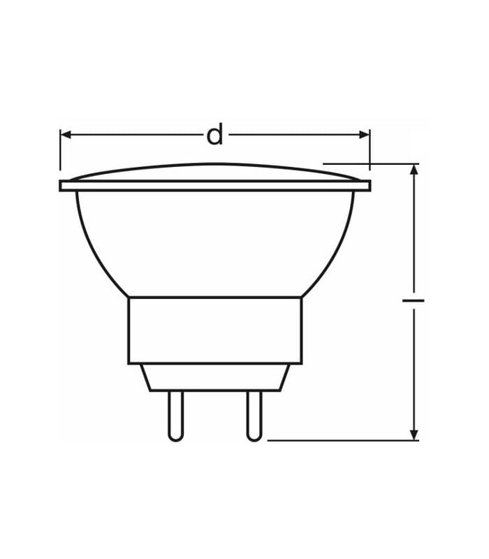 osram decostar 35 10w 12v 44888 wfl 44888 wfl 4050300443935 fr. Black Bedroom Furniture Sets. Home Design Ideas