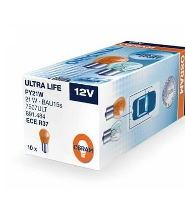 PY21W 12V 21W 7507 ULT BAU15s Ultra Life