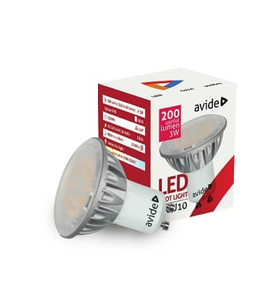 LED Spot Alu 5W CW GU10