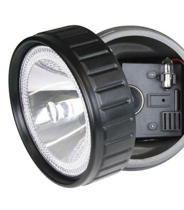 Rechargeable halogen flashlight EXPERT 3810