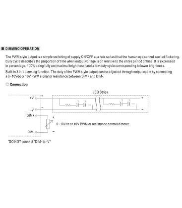 PWM-40-24, 24V / 40W / IP67