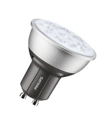 Master LEDspotMV DimTone 4.5-50W WW 230V GU10 25D Dimmbar