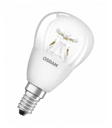 LED Superstar Classic P 40 6W-827 220-240V E14 Dimmbar