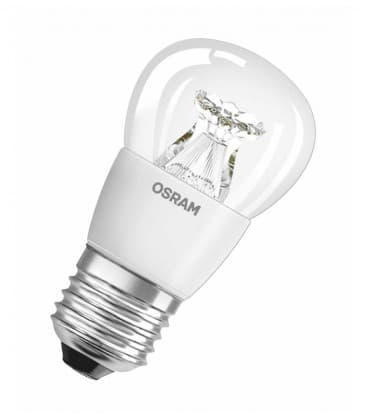 LED Superstar Classic P 40 6W-827 220-240V E27 Možnost zatemnitve