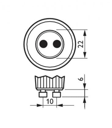 Master LEDspotMV VLE 3.5-35W 830 230V GU10 25D Dimmerabile