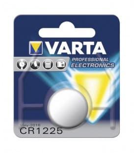 Več o CR1225 Litij 3V 48mAh 6225