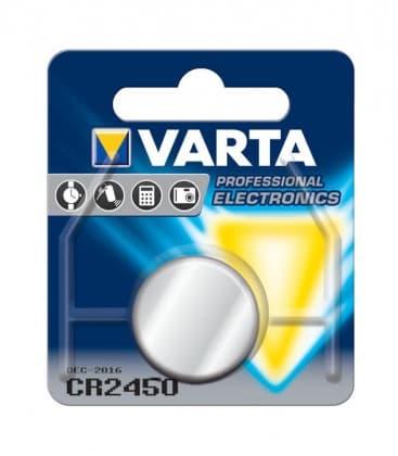 CR2450 Lithium 3V 560mAh 6450 06450101401 4008496270972