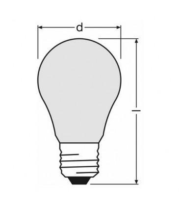 LED Insecta 5W E27 Rumena