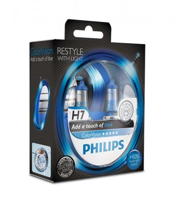 ColorVision H7 12V 55W PX26d Azul - Double Pack