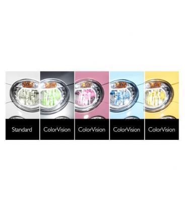 ColorVision H4 12V 60/55W P43t-38 Bleu - Paquet double