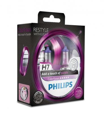ColorVision H7 12V 55W PX26d Pink Doppelpack 12972CVPPS2 8727900368048