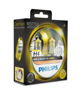 More about ColorVision H4 12V 60/55W P43t 38 Yellow Double pack