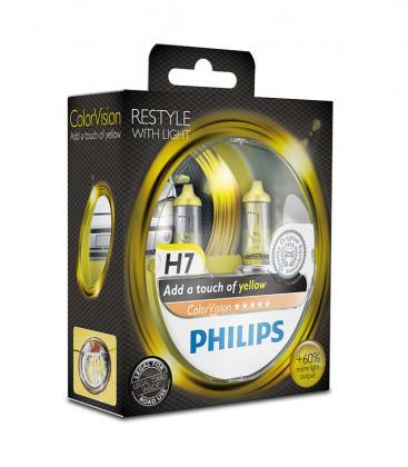 ColorVision H7 12V 55W PX26d Amarillo Double Pack 12972CVPYS2 8727900368024