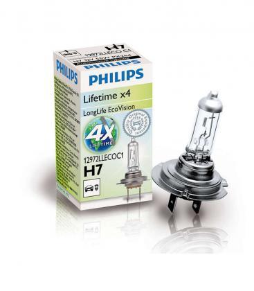 H7 12V 55W PX26d LongLife EcoVision