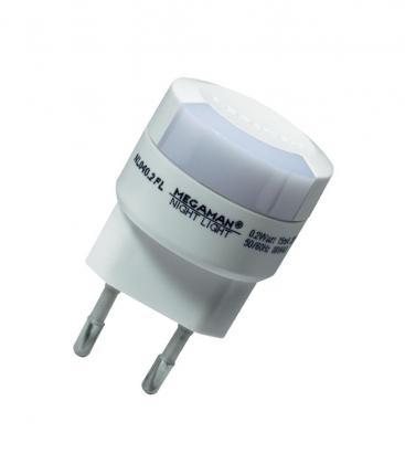 LED Nachtlicht 0.2W 827 2 Stift Eurostecker