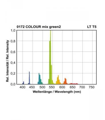 T5 LT 24W-172 G5 COLOUR mix Zelena