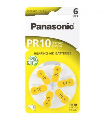 PR10 1.4V 75mAh Baterije za slušni aparat PR-10L/6LB 5410853023296