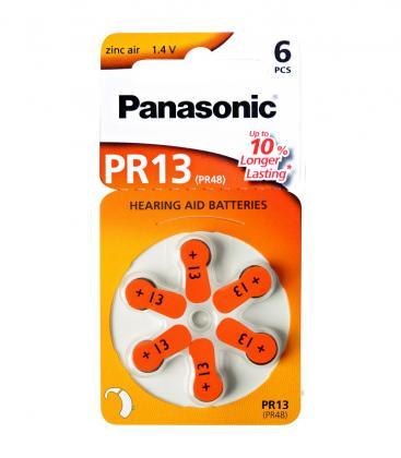 PR13 1.4V 300mAh Hörgerätebatterie
