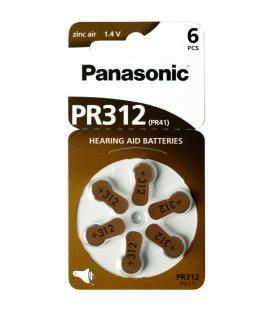 PR312 1.4V 170mAh Baterías para audífonos
