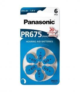 PR675 1.4V 605mAh Batteries pour appareils auditifs