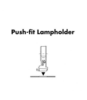 Lampenhalter Fassung G5 84108, Schraubring und Fusdichtungen IP67