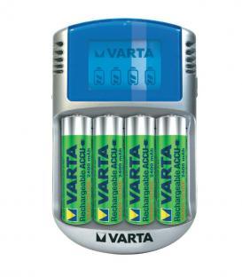 Plus de LCD Chargeur 2400mAh avec USB kabel et 12V adaptateur