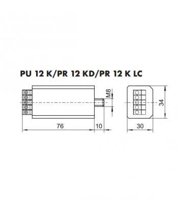 PU 12 K Conmutador de potencia electrónico