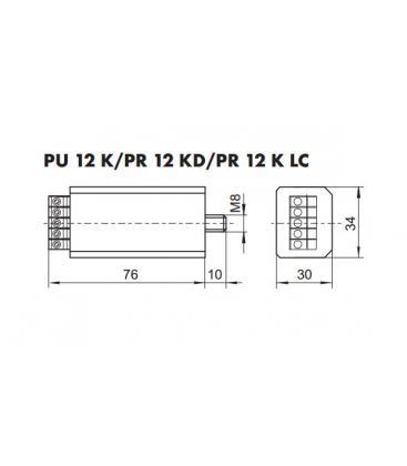 PR 12 K LC Elektronsko močnostno stikalo