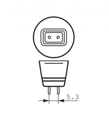 Master LEDspotLV VLE 6.3-35W 827 12V MR16 24D Gradable