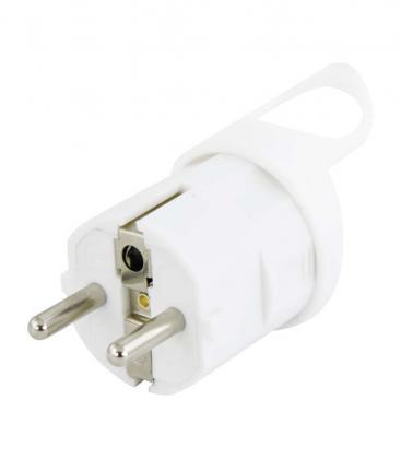 Plug angolato Bianco