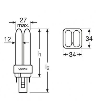 TC-d Dulux D 18W-827