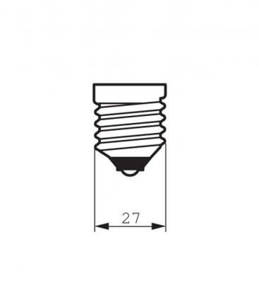 Classic LEDBulb ND 7.5-60W 220-240V 827 ST64 CL E27