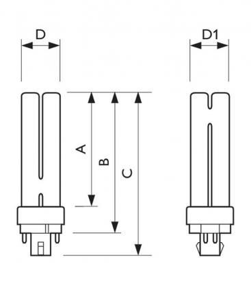 Master PL-C 26W-840 4P Xtra