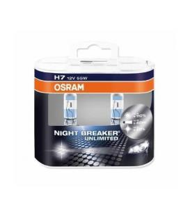 Plus de H7 12V 55W 64210 NBU Night Breaker Unlimited Paquet double