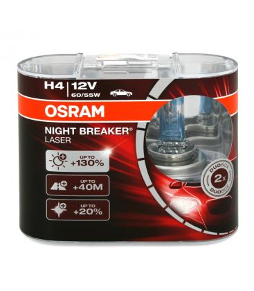 H4 12V 55W 64193 NBL Night Breaker Laser Paquete doble 64193-NBL-DUO 4052899436619