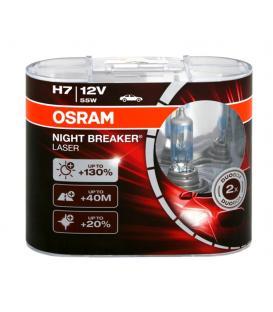 Plus de H7 12V 55W 64210 NBL Night Breaker Laser Double paquet