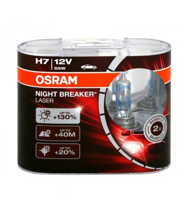 H7 12V 55W 64210 NBL Night Breaker Laser Paquete doble 64210-NBL-DUO 4052899436596