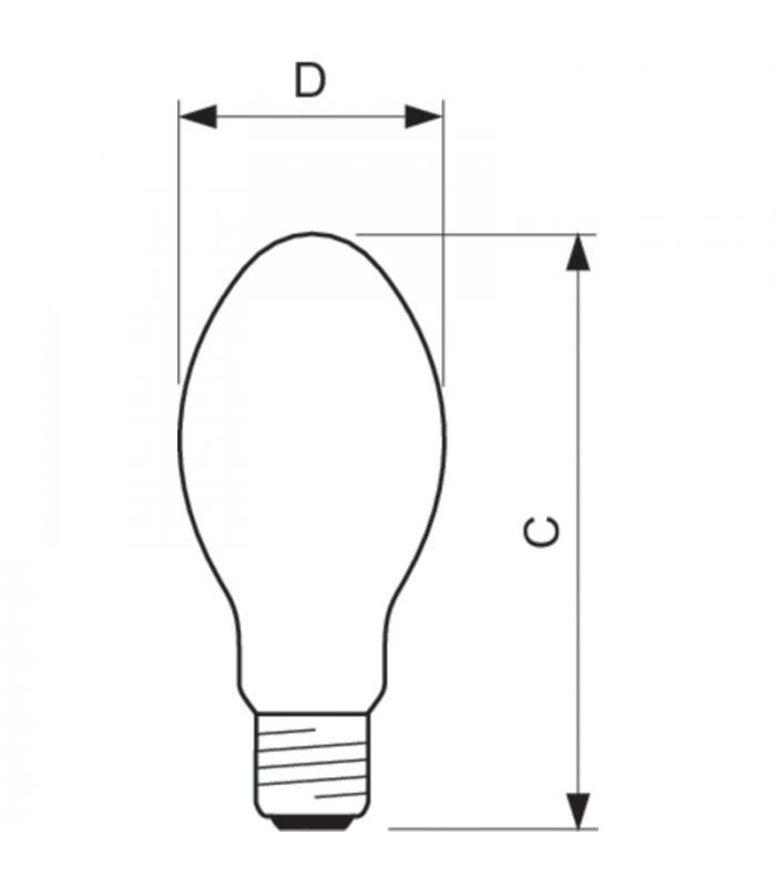 Metal Halide Lamp Choke: Philips HPL-N 400W 542 E40 928053507488 8710163146072