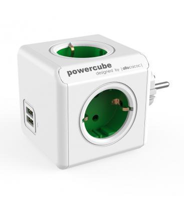 PowerCube Originale USB Tipo F Verde PC:1202GN/DEOUPC 8718444085737