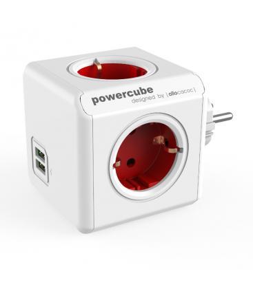 PowerCube Original USB Type F Rouge PC:1202RD/DEOUPC 8718444085690