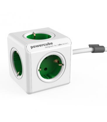 PowerCube Extended Type F Green 1.5 m PC:1300GN/DEEXPC 8718444086956