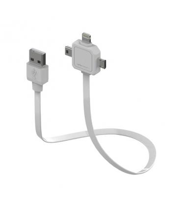 Câble USB de puissance 3 en 1 Mini USB Micro USB Apple Lighting PC:9002/UC80CN 8718444082798