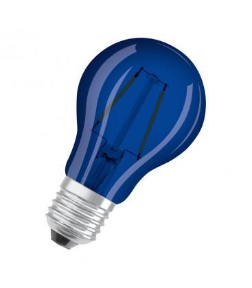 Led Star Deco Classic A 15 1.6W 9000K 300° E27 Azul LEDSCLA15-BLUE1 4058075815995