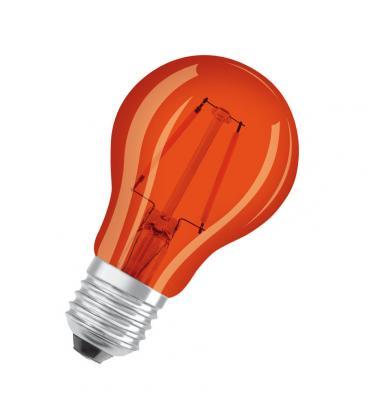 Led Star Deco Classic A 15 1.6W 1500K 300° E27 Arancione LSCLA15-ORANGE1 4058075816039