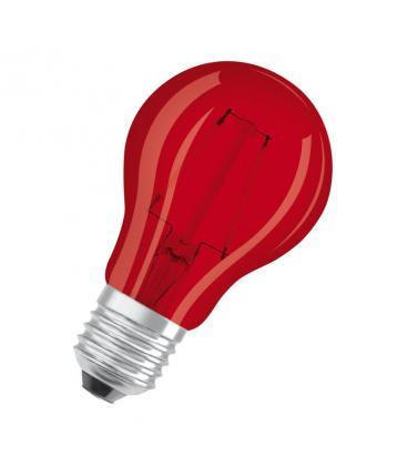 Led Star Deco Classic A 15 1.6W 3000K 300° E27 Rojo LEDSCLA15-RED1 4058075816053