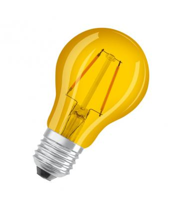 Led Star Deco Classic A 15 1.6W 2200K 300° E27 Yellow LSCLA15-YELLOW1 4058075816077