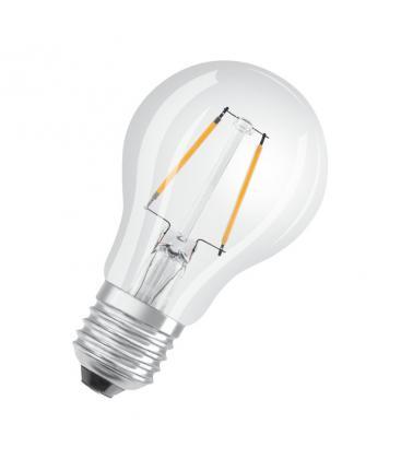Led Classic A 15 1.6W 827 220V CL E27  LEDSCLA15-1,6W/ 4052899400283