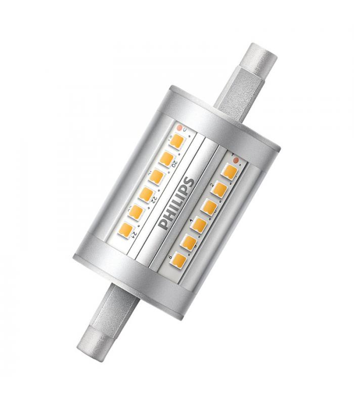 Corepro led linear nd 7 5 60w 830 220v r7s 78mm philips for Led r7s 78mm osram