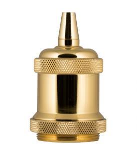 Mehr über Retro Fassung Alu E27 Gold