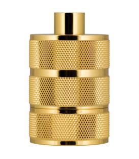 Mehr über Fassung Alu Grid E27 Gold